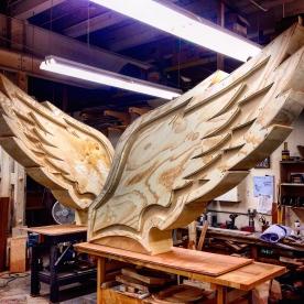 Wings for Philadelphia Eagles
